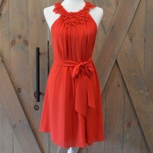 Belle Badgley Mischka | Red Formal Dress